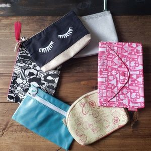 5 Ipsy Bags NWT